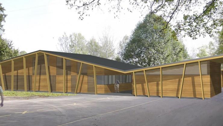 Baureinigung Freizeitanlage Rheinwiesen, Langwiesen